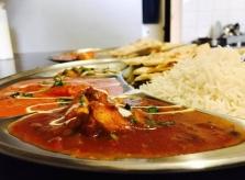 Indické denní menu